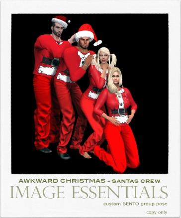 IE - Awkward Christmas Pics - Santas Crew - 100L