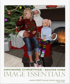 IE - Awkward Christmas - Santas Knee - 100L
