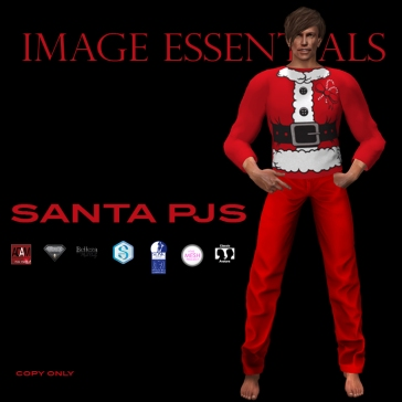 Santa PJS for Men - $150L