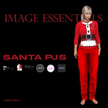 Santa Pjs for women - $150L
